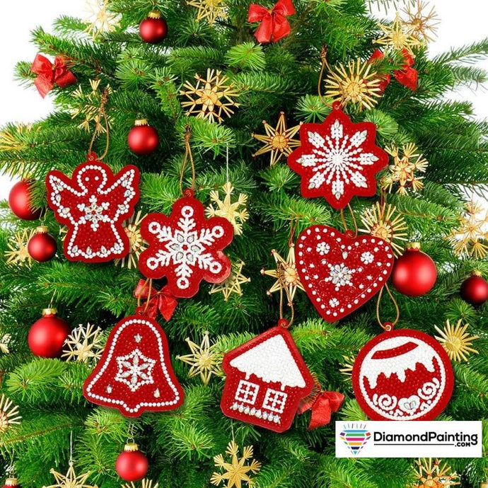 Christmas Ornaments Diamond Painting Kits