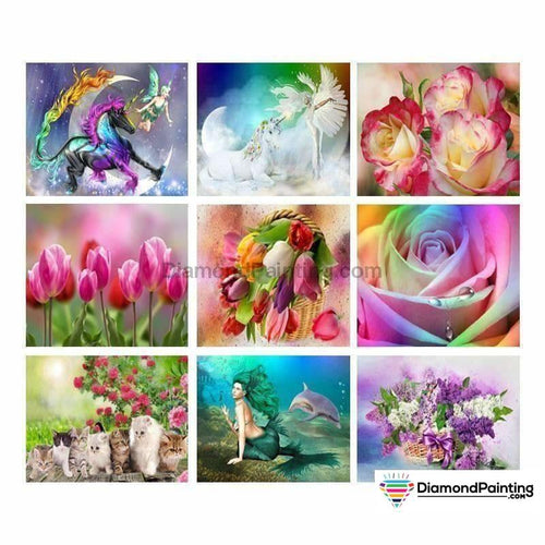 Colors of Fun Diamond Painting Lovers Kits for Adults Free Diamond Painting