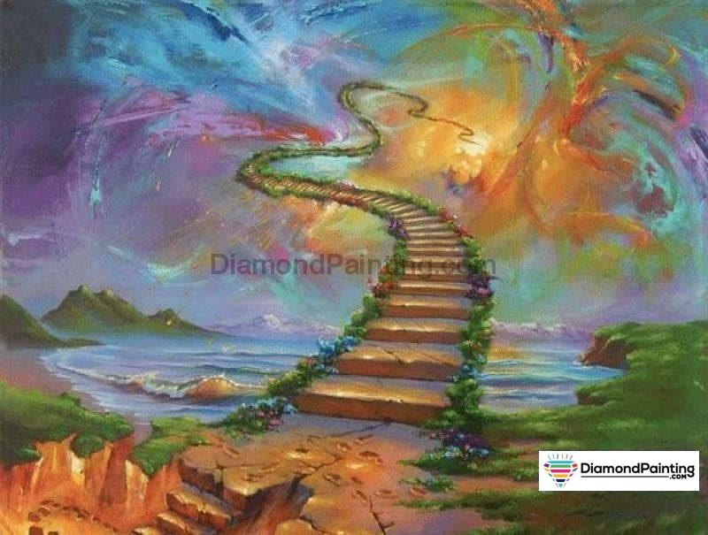 Stairway To Heaven Diamond Painting 20X25Cm