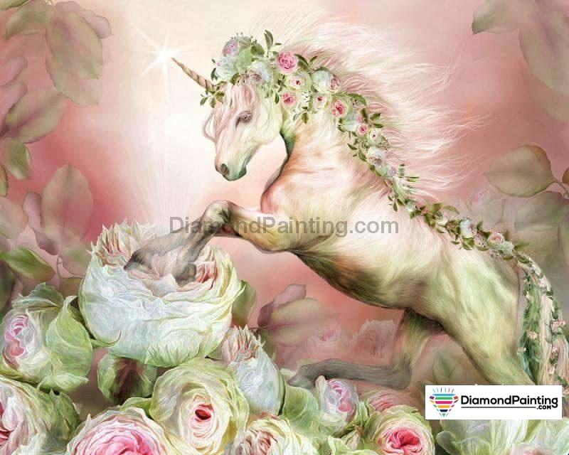Unicorn Runner Diy Diamond Painting 20X25Cm