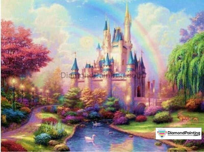 Wonders Of Life Collection Rainbow Castle / Square 20X25Cm