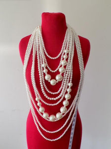 PEARL NECKLACE SET 10 STRAND