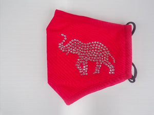 Mask Red - Elephant