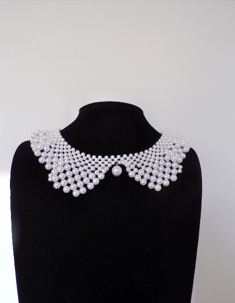 PEARL PETER PAN COLLAR