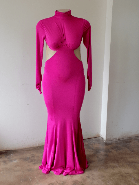 DR777 - GOWN PINK SIZE 8