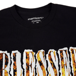 Load image into Gallery viewer, SHREDDED FLAMES TEE - Blessed Apparel