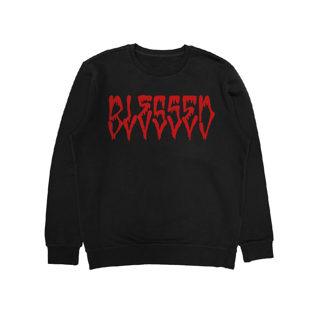 BLOODY CREWNECK - Blessed Apparel