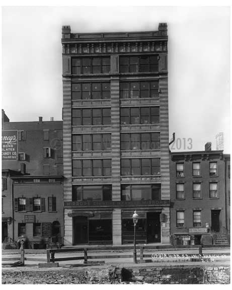 101 & 103  Varick Street  - Tribeca  NY 1914 Old Vintage Photos and Images