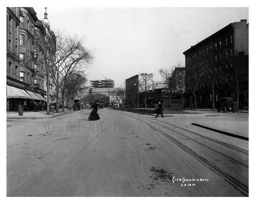 104th Street & Broadway - Upper West Side - New York, NY 1910 Q6 Old Vintage Photos and Images