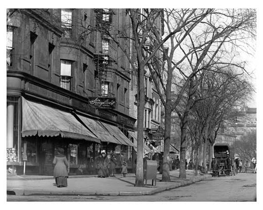 104th Street & Broadway - Upper West Side - New York, NY 1910 Q7 Old Vintage Photos and Images