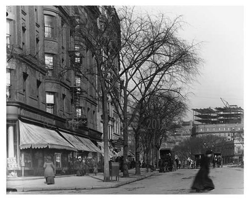 104th Street & Broadway - Upper West Side - New York, NY 1910 Q8 Old Vintage Photos and Images