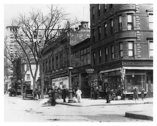 109th Street & Broadway - Upper West Side - New York, NY 1910 Q9 Old Vintage Photos and Images