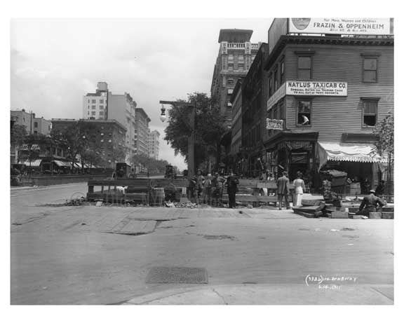 110th Street & Broadway - Upper West Side - New York, NY 1910 Old Vintage Photos and Images