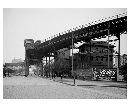 110th Street Station 1905 - Upper West Side - Manhattan NY Old Vintage Photos and Images