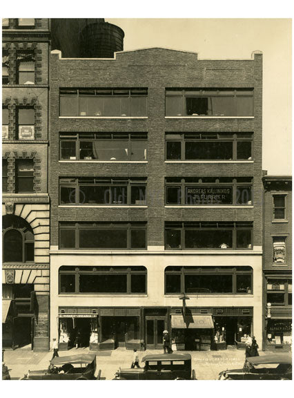 115 West 23rd Street Chelsea Manhattan NY Old Vintage Photos and Images
