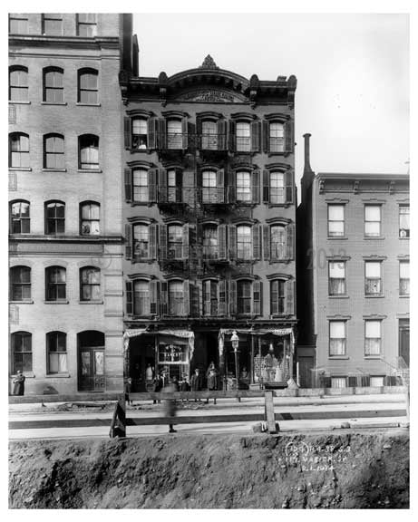 117 Varick Street  - Tribeca  NY 1914 Old Vintage Photos and Images