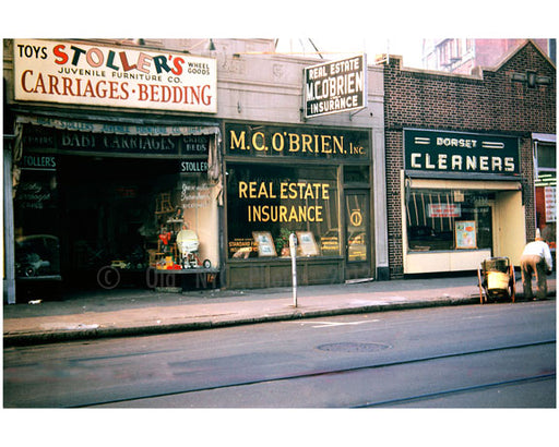 1182 Flatbush Ave M.C. O'Brien's Real Estate Office 1948 Old Vintage Photos and Images