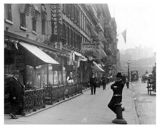 11th & Greenwich Avenue - Greenwich Village - Manhattan 1914 B Old Vintage Photos and Images