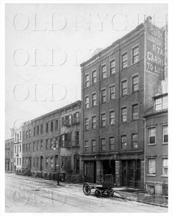 12 & 14 Charlton St West Village Manhattan NYC 1927 Old Vintage Photos and Images
