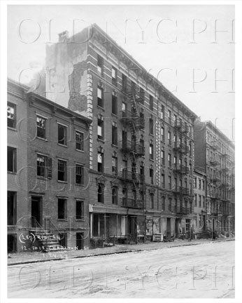 12 to 18 Charlton St West Village Manhattan NYC 1927 Old Vintage Photos and Images