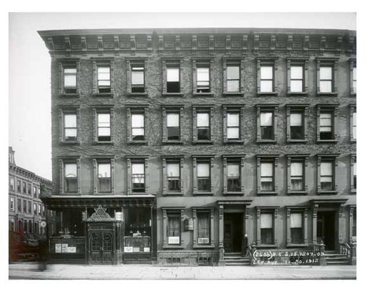 1207 - 1209 Lexington Avenue at 82nd Street 1912 - Upper East Side Manhattan NYC V Old Vintage Photos and Images
