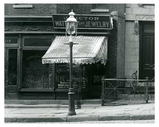 1220 Lexington Avenue at 83rd Street 1912 - Upper East Side Manhattan NYC X2 Old Vintage Photos and Images
