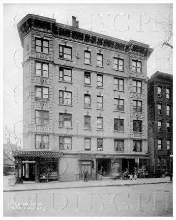123rd Street 2020 Lexington Ave George Ehret Brewery Manhattan NYC 1912 Old Vintage Photos and Images