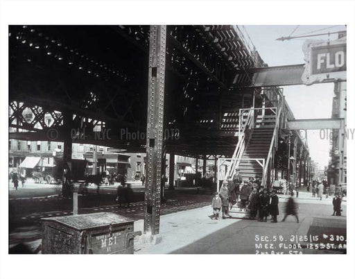 125th Street & Second Ave Old Vintage Photos and Images