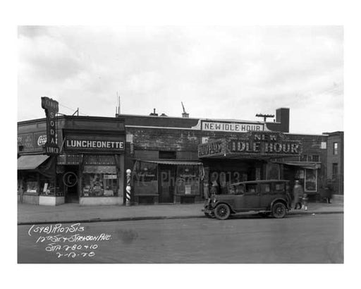 12th Street & Jackson Ave 1928 - Long Island City - Queens NY Old Vintage Photos and Images