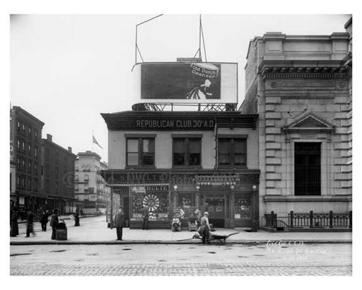 134 East 125th Street 1912 - Harlem Manhattan NYC B Old Vintage Photos and Images