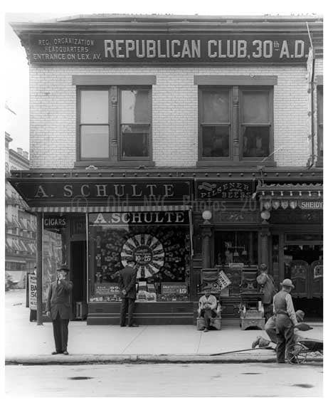 134 East 125th Street 1912 - Harlem Manhattan NYC D Old Vintage Photos and Images