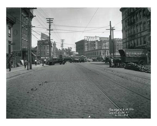 138th Street 1913 - Harlem Manhattan NYC A Old Vintage Photos and Images