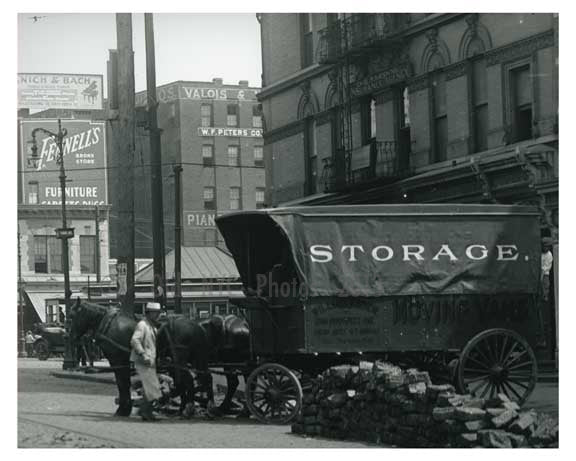 138th Street 1913 - Harlem Manhattan NYC B Old Vintage Photos and Images