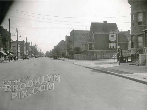 13th Avenue looking southwest to 66th Street, 1934