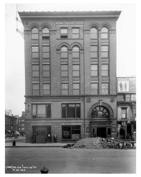 147 East 125th Street 1912 - Harlem Manhattan NYC A Old Vintage Photos and Images