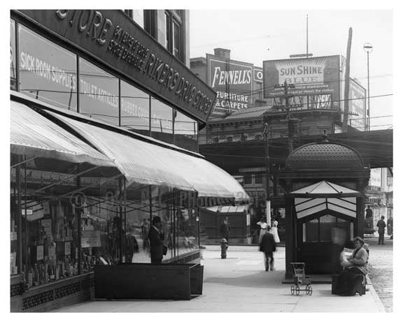 149th Street & 3rd Ave South Bronx, NY 1910 Old Vintage Photos and Images