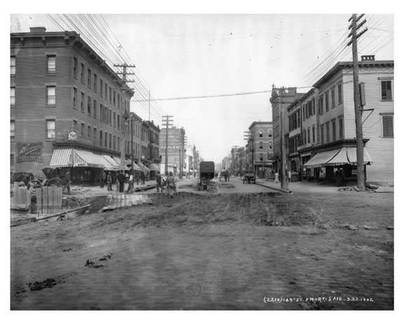 149th Street & Morris Avenue South Bronx, NY 1902 Old Vintage Photos and Images