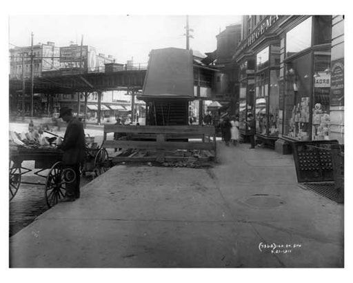 149th Street Station Sugar Hill - Manhattan - New York, NY 1910 Old Vintage Photos and Images