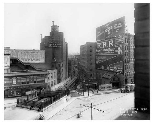 149th Street Station Sugar Hill - Manhattan - New York, NY 1915 Old Vintage Photos and Images