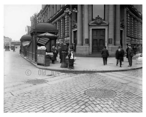 14th Street & 4th Avenue - Greenwich Village - Manhattan, NY 1916 A Old Vintage Photos and Images
