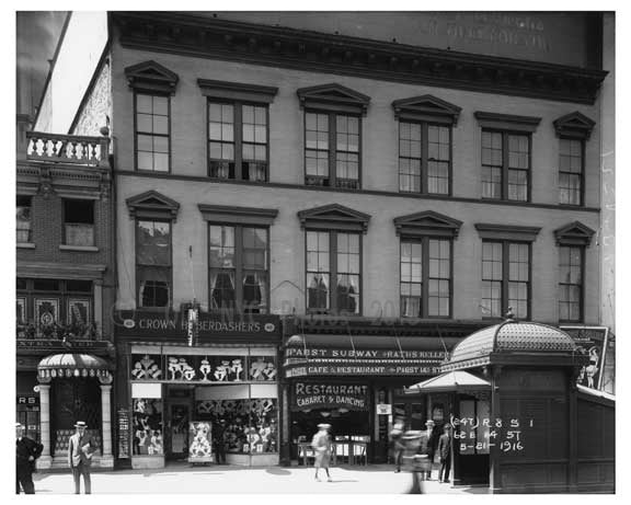 14th Street & 4th Avenue - Greenwich Village - Manhattan, NY 1916 C Old Vintage Photos and Images