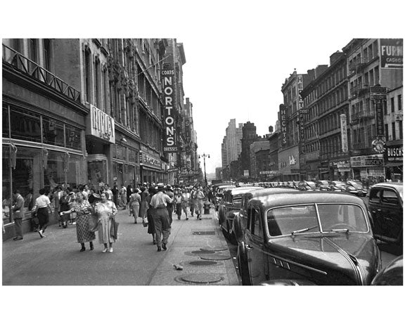 14th Street Shops 1930s Greenwich Village Manhattan Old Vintage Photos and Images