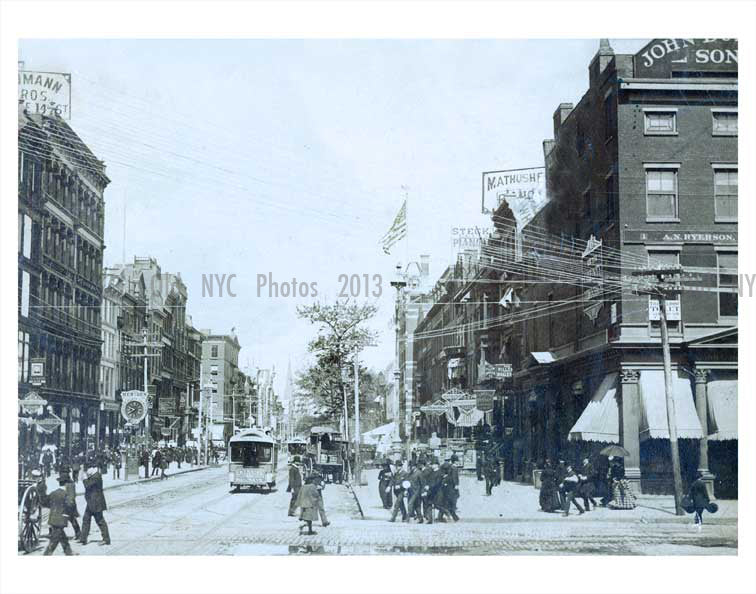 14th Street Union Square - Greenwich Village - New York, NY Old Vintage Photos and Images