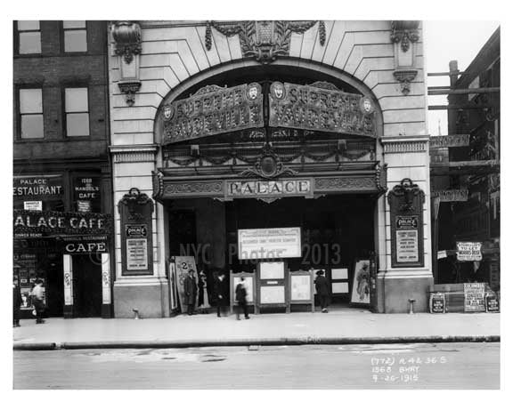 1568 Broadway - Theater District - Midtown Manhattan 1915 Old Vintage Photos and Images