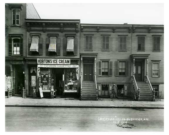 157 - 159 Bushwick Avenue - Williamsburg - Brooklyn, NY 1916 R1 Old Vintage Photos and Images
