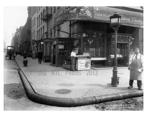15th Street & 7th Avenue - Chelsea - Manhattan 1914 Old Vintage Photos and Images