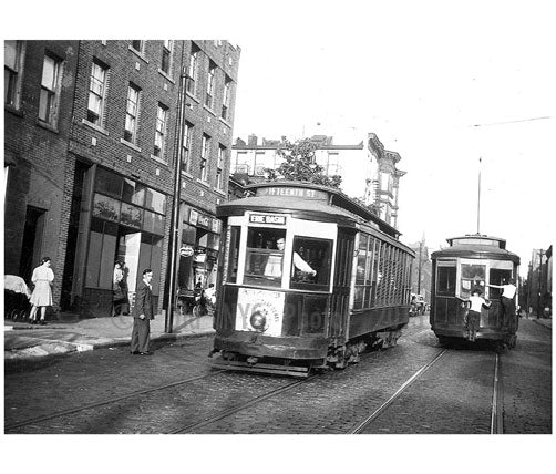 15th Street & 8th Ave 1941 15th Street Line Brooklyn NY Old Vintage Photos and Images