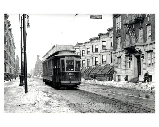 15th Street Trolley 1940's Old Vintage Photos and Images