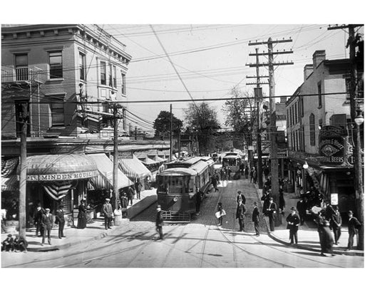 160th Street Jamaica Queens 1900 Old Vintage Photos and Images
