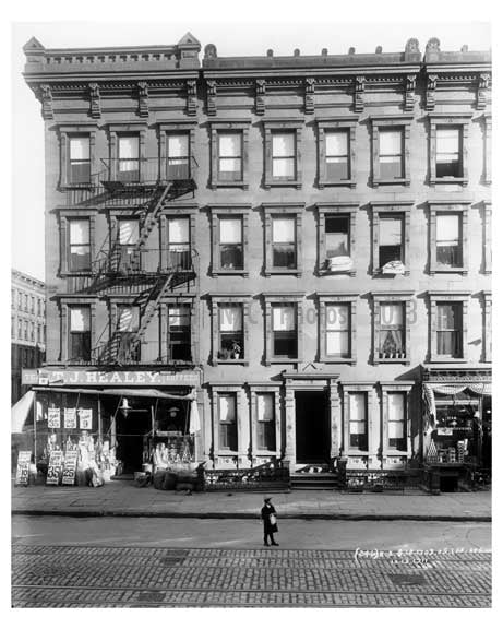 1703 1705  Lexington Avenue & 107th Street 1911 - Upper East Side, Manhattan - NYC A Old Vintage Photos and Images